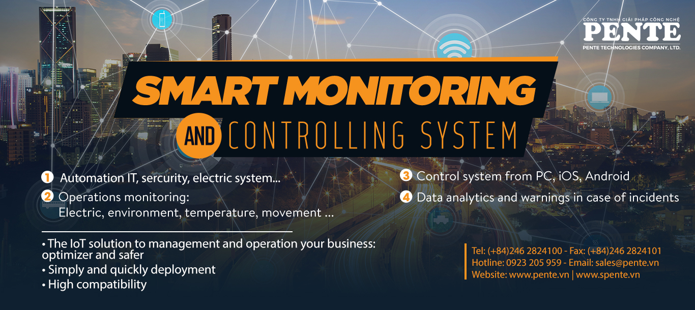 Smart mornitoring and Controlling system